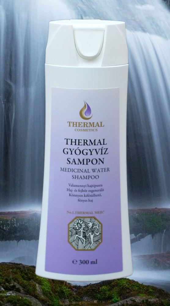 Thermal šampón z léčivé minerální vody